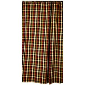Image Is Loading New Primitive Country SALTBOX PLAID Checked Wine Red