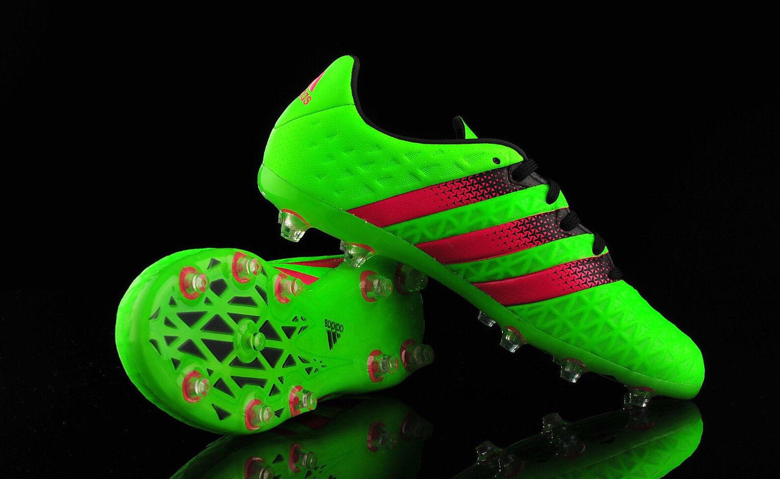 Adidas As 16.1 Fg     Ag [ Talla 34-41 ] Cuero Zapatos de Fútbol AF5090 verde 4255c5