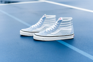 Details about Vans SK8 Hi 38 DX Anaheim Factory OG Light Blue Checker Men Skate Shoes Size 7.5