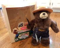 Coca-coca Smokey Bear Adult Doll - 1997 Coke Nat'l Convention - Limit To 400