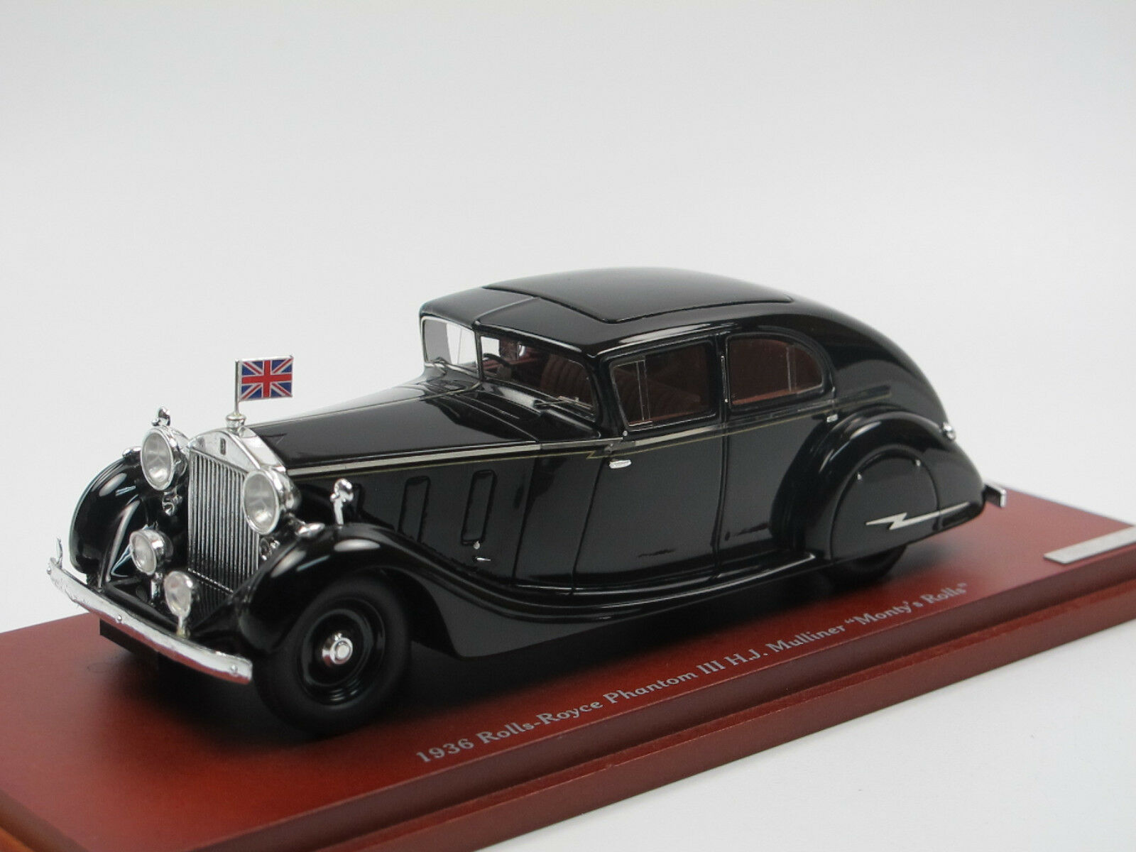 TSM Model TSM124363 1936 Rolls-Royce Phantom III Mulliner  Monty's Rolls  1 43  | Lebensecht