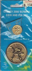 Canoe//Kayak 10//28 2000 Sydney Olympics $5 Coin and Pin Set