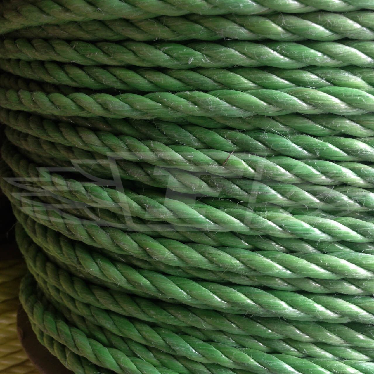 GREEN POLY ROPE COILS POLYROPE POLYPROPYLENE, 6mm, 8mm, 10mm, 12mm, 16mm, NEW