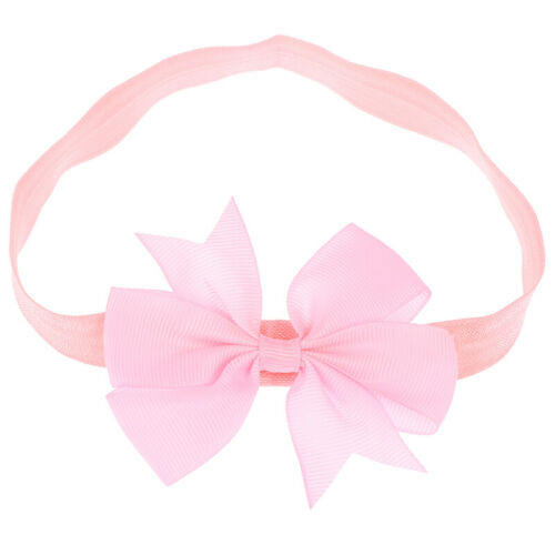 10pcs Elastic Baby Headdress Kids Hair Band Girls Bow Newborn Headband Ran ZSH/%,