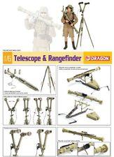q Dragon - Telescope and Rangefinder  (Scala 1/6) - Da assemblare e dipingere