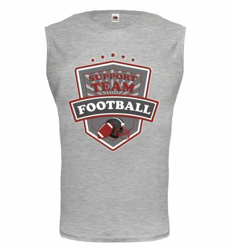 Muskelshirt ärmellos Tank Top American Football-Support Team Fanshirt Trikot