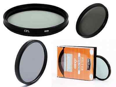 58mm Circular Polarizing C-PL PL-CIR CPL Filter For Nikon Canon DSLR Cameras