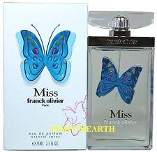 Miss Franck Olivier By Franck Olivier 2.5/2.6oz. Edp Spray For Women New In Box