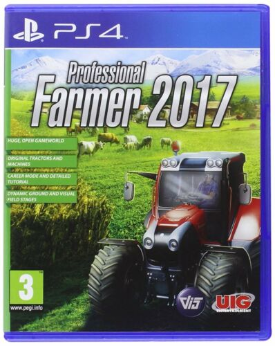 Professional Farmer 2017 PlayStation 4 NEW & Sealed Despatched from UK