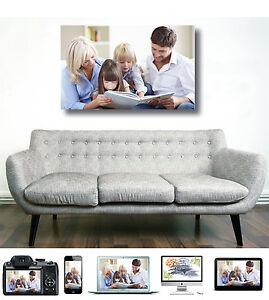 Quadro canvas Personalizzato Fotoquadro Stampa foto su tela telaio gadget regalo