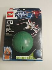 LEGO Star Wars 9677 X-Wing Starfighter Raumschiff Pilot Yavin 4 Planet Kugel