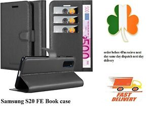 Samsung-Galaxy-S20-FE-Shockproof-PU-Leather-Wallet-Stand-book-Case-Cover-screen