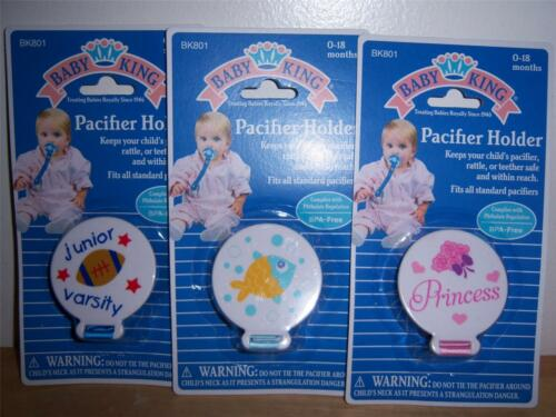 BABY KING PACIFIER HOLDER Princess Football DIAPER CAKE Fish BABY SHOWER