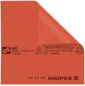KNIPEX-98-67-05-Red-Insulated-Mat-19-11-16-034-W-x-19-11-16-034-L-Rubber