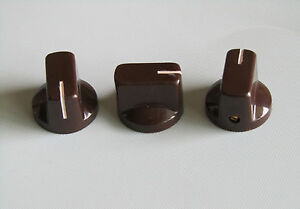 10pcs brown davies style 1 4 guitar effects pedal knobs amp amplifier knob ebay. Black Bedroom Furniture Sets. Home Design Ideas