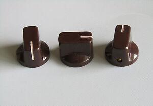 10pcs brown davies style 1 4 guitar effects pedal knobs amp amplifier knob ebay. Black Bedroom Furniture Sets. Home Design Ideas