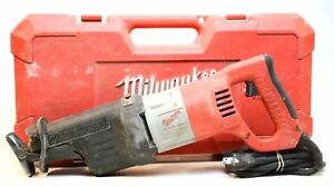 Milwaukee 6520 21 >> Milwaukee 6520 21 13a Sawzall Orbital Reciprocating Saw For