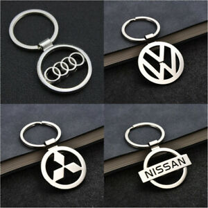 3D Metal Double Side Car Logo Hollow out Keyring Key Chains Holder for VW