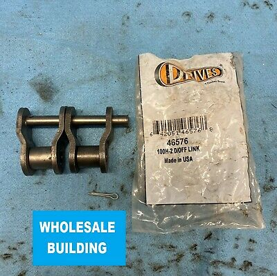 """Made in USA 140 Offset Link Drives #140 Roller Chain Offset Link 1-3//4/"""" Pitch"""
