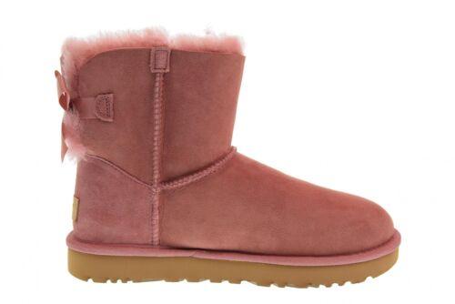 Mujer Ugg Mini 1016501 Pink Botín Ii A18s Zapatos Bailey De W Bow nROUARwWx