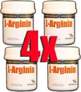 85-4-100g-Arginin-Kapseln-Aminosaeure-Muskelaufbau-Hochdosiert-Booster-Sex-360-C