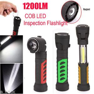 led magnetic end black work light inspection flashlight lamp hot new. Black Bedroom Furniture Sets. Home Design Ideas