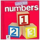 Baby's First Numbers (2012, Board Book)