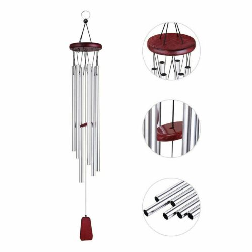 """33/"""" Wind Chimes Bells Copper Tubes Outdoor Yard Garden Home Decor Ornament"""