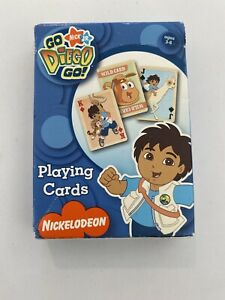 GO-DIEGO-GO-PLAYING-CARDS-BICYCLE-2007-FAST-SHIPPING
