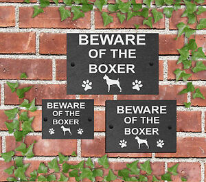 Beware-of-the-Dog-Slate-Door-Gate-House-Sign-3-Sizes-All-Breeds-available-A-C