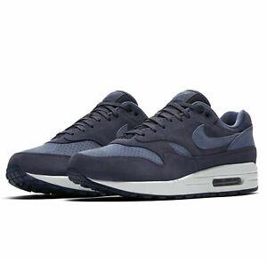 Details about Mens Nike AIR MAX 1 PREMIUM Running Shoes Neutral Indigo 875844 501 Sz 13 New