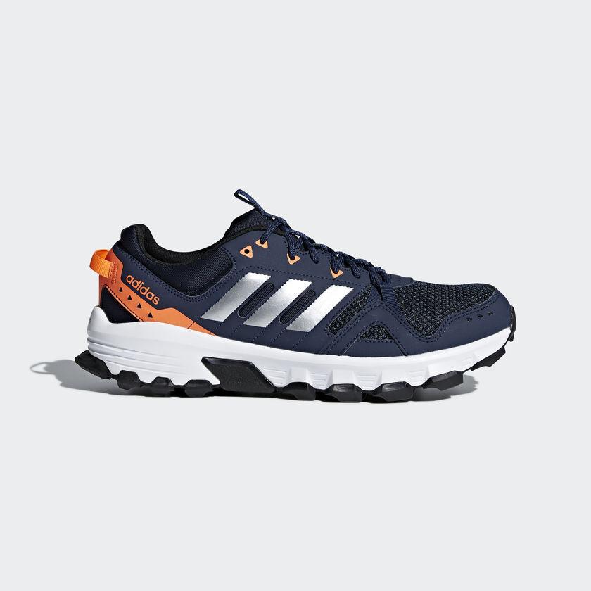 neue schuhe adidas rockadia trail running schuhe neue cm7214 blau - orange grau, silber dreckige kleine 09b9a8