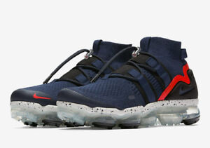 be53a90d7d Image is loading Nike-Air-Vapormax-Utility-Flyknit-College-Navy-Habanero-