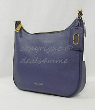 NWT! MARC By Marc Jacobs M0008287 Gotham City Hobo in Midnight Blue