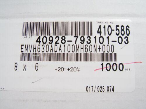 20 x SMD ELKO 10uF 63V #0E2