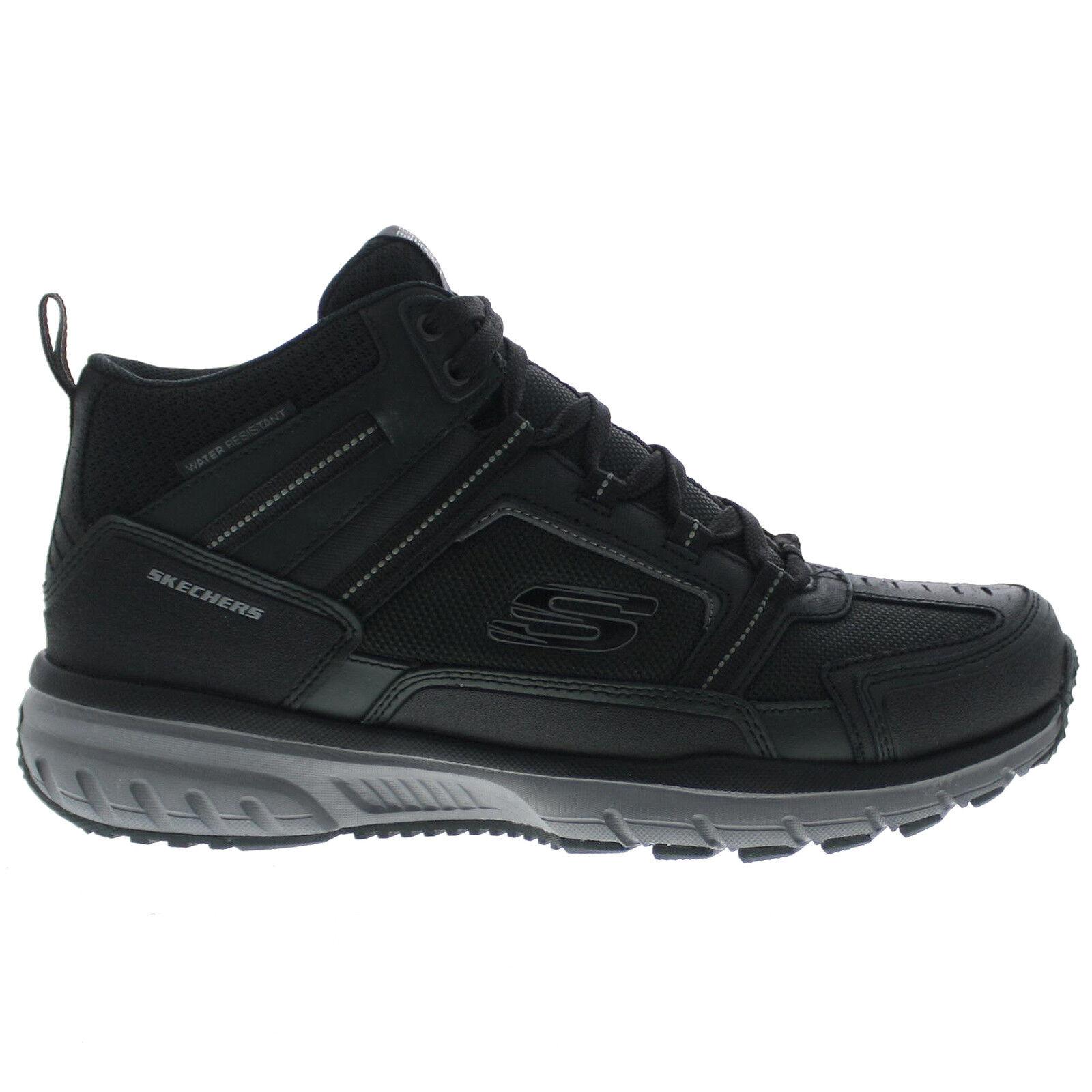 Skechers Geo Trek Hiking BKGY 51562 #BR Shoes Men's