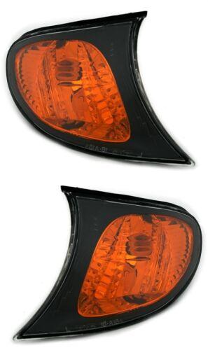 2 CLIGNOTANTS AVANT ORANGE V1 BMW SERIE 3 E46 BERLINE PH2 320 d 09//2001-02//2005