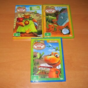 Details about DINOSAUR TRAIN - I'M A T  REX / ONE BIG DINOSAUR / TIME  TUNNEL ( 3 DVD ) * NEW !