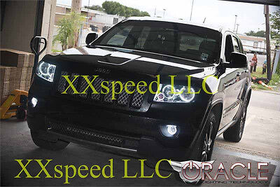 ORACLE Jeep Grand Cherokee 2010-2013 WHITE LED Headlight Halo Angel Eyes Kit