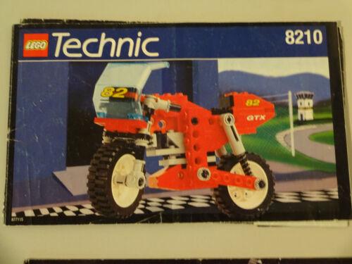 LEGO  TECHNIC BAUANLEITUNGEN 8408 8443 8074 usw ZUR AUSWAHL GEBRAUCHT RAR SR