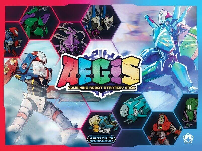 AEGIS  Combing Robots Strategy gioco -  Zephyr lavoronegozio  vendita online