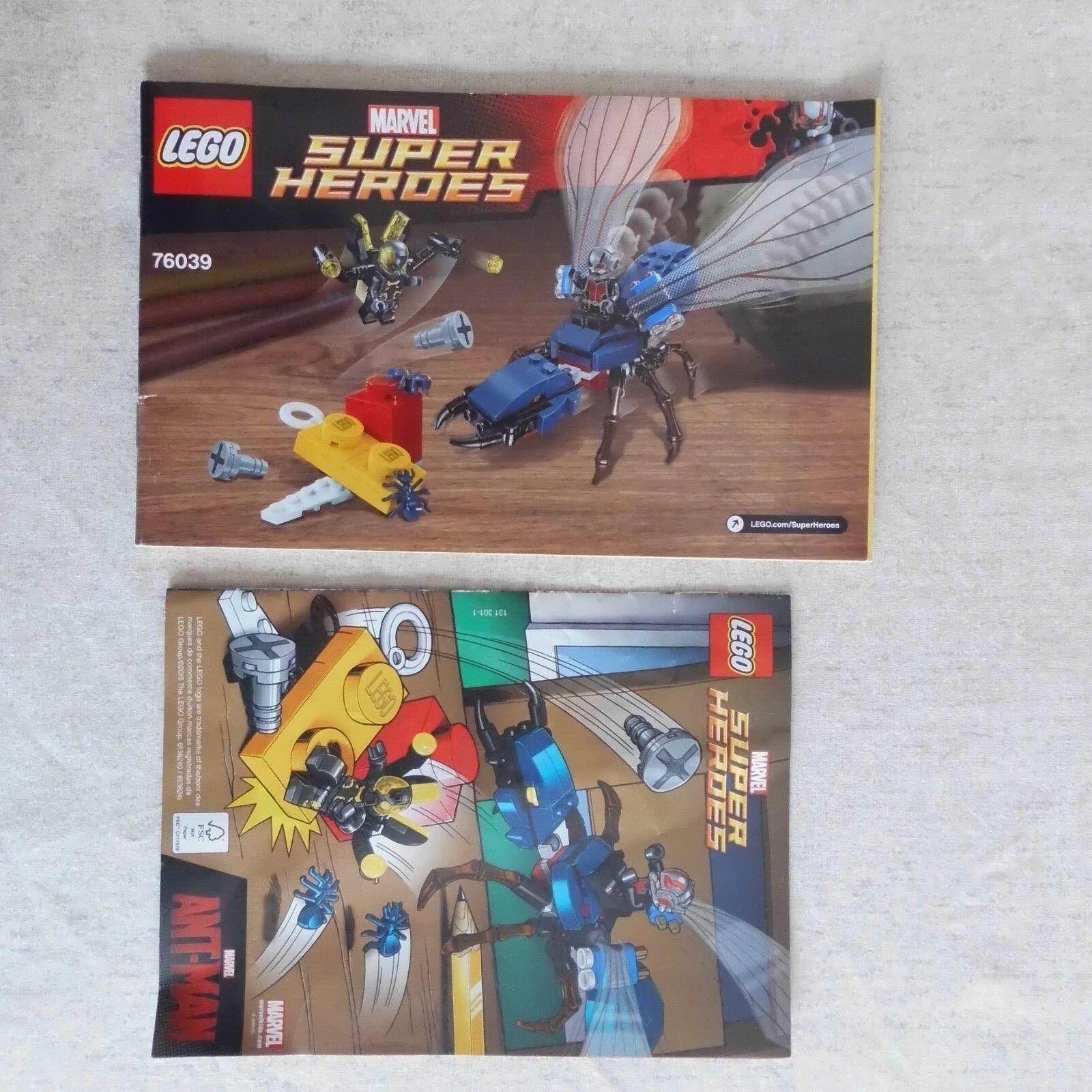Lego Lego Lego 76039 Super Heroes ANT-MAN bataille finale avec LEGO Comic book bf9b20