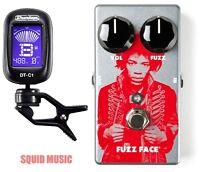 Dunlop Jhm5 Jimi Hendrix Fuzz Face Distortion Guitar Effect Pedal (dunlop Tuner)
