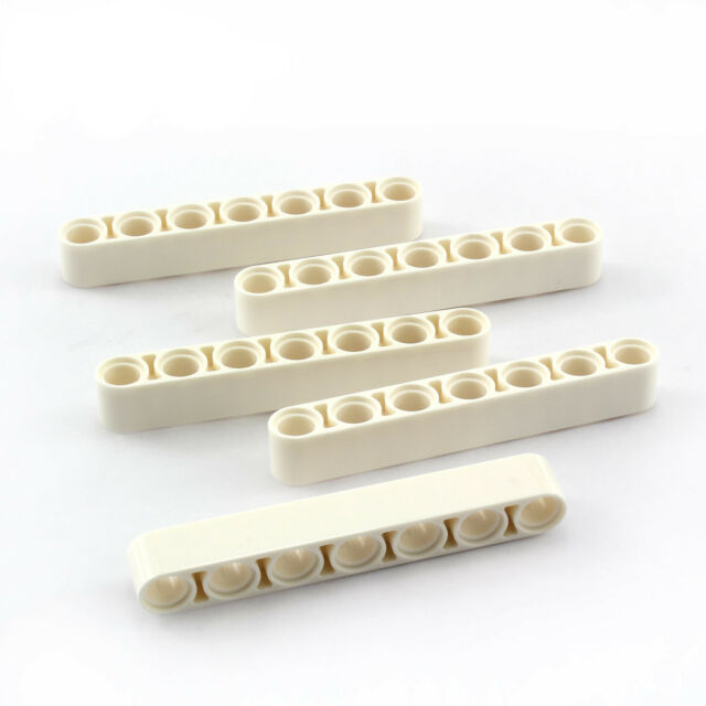 L14 Liftarm Thick 20 x Liftarm 1x7 gelb dick 32524 NEUWARE LEGO Technik