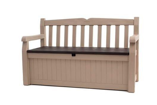 Keter Eden Plastic Garden Storage Bench For Sale Online Ebay
