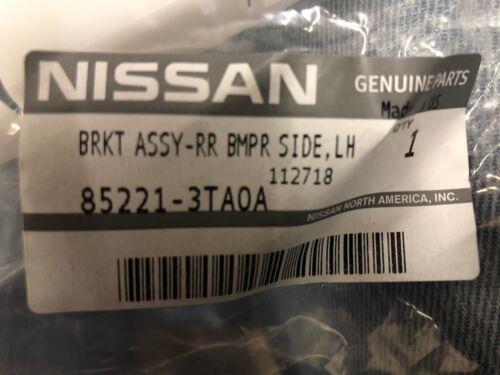 NEW OEM 2013-2015 NISSAN ALTIMA PASSENGER SIDE REAR BUMPER TO QUARTER BRACKET