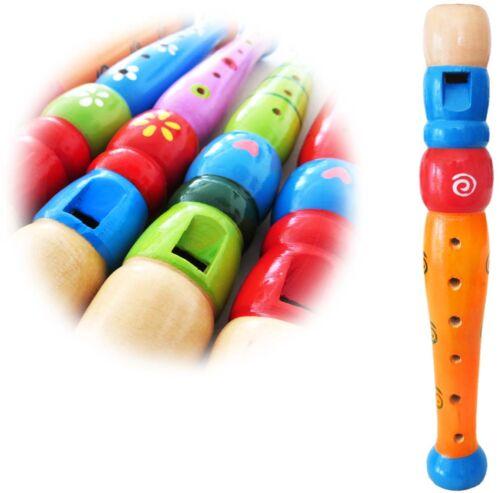 keepdrum  KFL1OR Flöte aus Holz für Kinder Orange