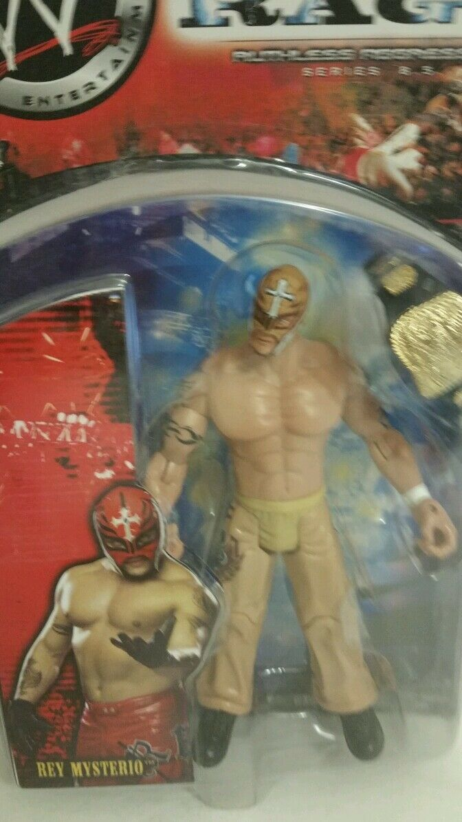 WWE REY MYSTERIO RING RING RING RAGE RUTHLESS AGGRESSION SERIES 8.5 ACTION FIGURE(074) 5650e1