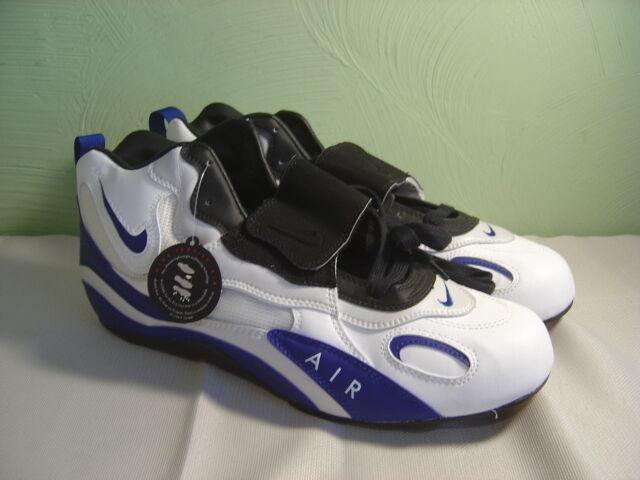 Los hombres y de Nike Air blanco y hombres azul tension alta zapatos cómodos a61bc9