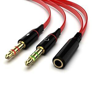 Maeline-Headphone-Splitter-for-Computer-3-5mm-Female-to-2-Dual-3-5mm-Male-Hea